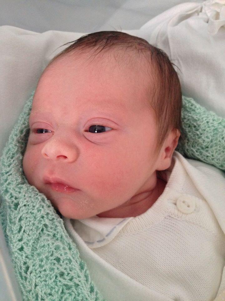 Nasce o primeiro filho do poeta Carlos Willian e da publicitária Tainá Corrêa