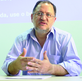 """Professor Pedro Sérgio dos Santos: """"Se naquilo que parecia ser tão exato há tantas variações, o campo das ciências humanas não pode ser tão preciso"""""""
