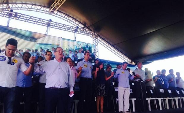Vice-governador diz que último encontro da base reitera união dos partidos