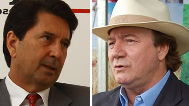 Maguito Vilela tece críticas a Júnior Friboi e declara que apoiará Dilma em qualquer circunstância