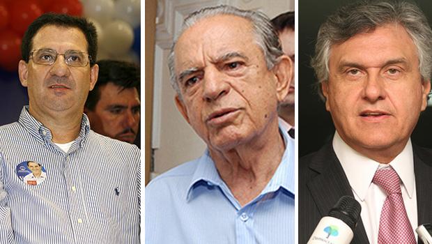 Iristas garantem que aliança com Caiado está fechada e que existem negociações com Vanderlan Cardoso