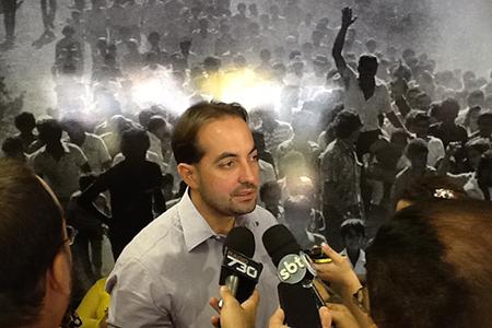 Samuel Belchior: trabalho paralelo para tentar acabar com a dissidência no PMDB e conquistar novas alianças