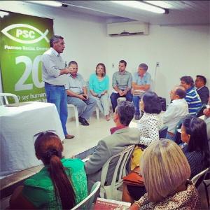 Pré convenção do PSC em Goiás