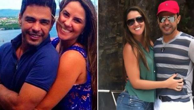 Atual namorada de Zezé di Camargo causa polêmica e diz que está com o cantor há nove anos