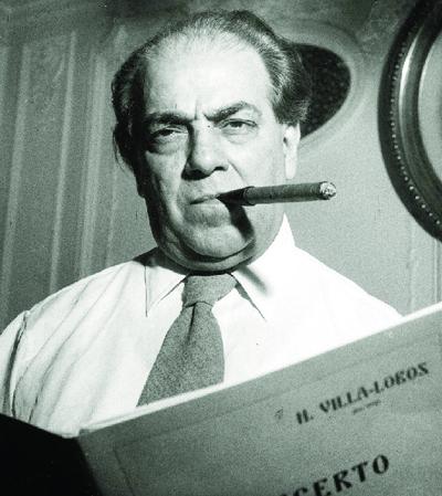 Heitor Villa-Lobos: o maior expoente do modernismo musical brasileiro | Foto:  Biblioteca Nacional do Brasil