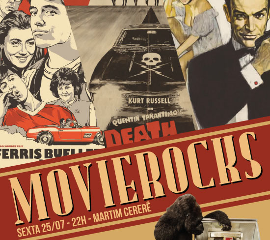 Martim Cererê é palco de evento com músicas que relembram clássicos do cinema