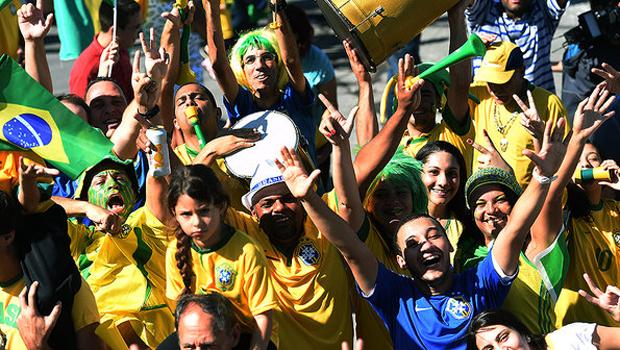 Simpatia dos brasileiros ajudou o País a obter avaliação positiva | Foto: Reprodução/TV Globo