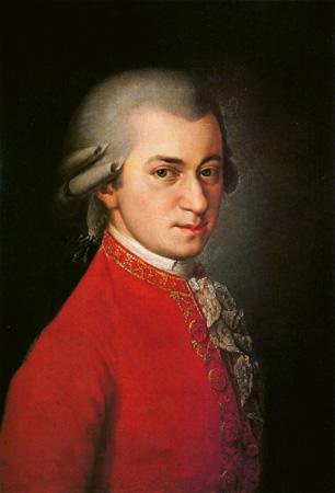 Gênio da música Amadeus Mozart: um exemplo de como a arte (assim como o futebol) pode cobrar um alto preço | Foto: Johann Nepomuk della Croce