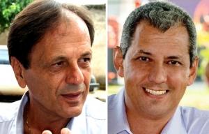 Ex-prefeitos de Catalão, Adib e Velomar foram pelo MPGO | Fotos: Edilson Pelikano e Reprodução