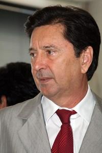 Maguito Vilela tem um objetivo nessas eleições: eleger seu filho Daniel Vilela deputado federal   Foto: Edilson Pelikano