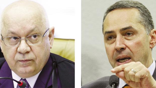 Ministros Zavascki e Barroso: desembarque no Supremo formou maioria pró-redução de penas de mensaleiros | Fotos: Wilson Dias/ABR - Antonio Cruz/ABr