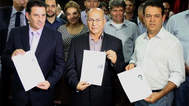 Baldy adverte que, se sair do PP, Professor Alcides perderá o mandato