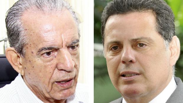 Iris Rezende e Marconi Perillo: está nas mãos deles o tom mais ou menos propositivo da campanha eleitoral | Fotos: Fernando Leite/Jornal Opção