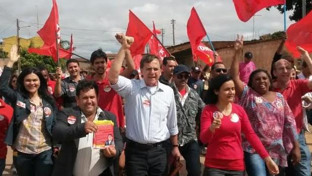 Para Antônio Gomide, o fator essencial para a elevação foram as visitas nos municípios | Foto: Reprodução/Twitter