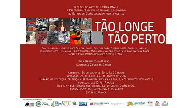 Goiânia sediará exposição de arte venezuelana