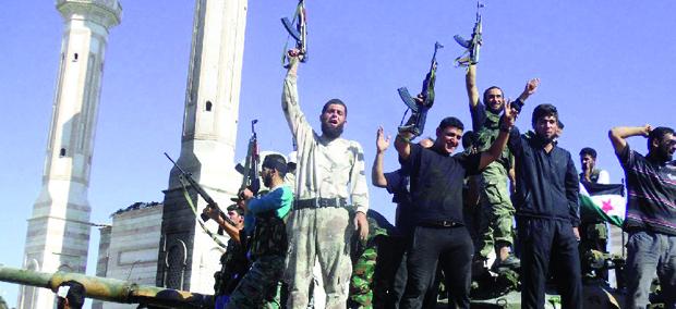 Grupo militante Estado Islâmico do  Iraque e do Levante disse ter estabelecido  um califado, ou Estado Islâmico, nas  áreas sob o seu controle no Iraque e na Síria | REUTERS/STRINGER