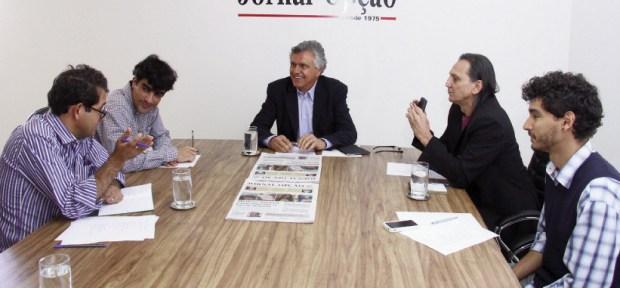 """Deputado Ronaldo Caiado, candidato ao Senado: """"Sempre assumi uma defesa árdua da segurança pública"""""""