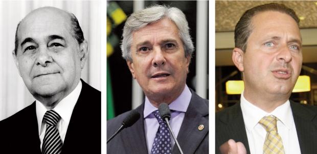 Tancredo Neves, Fernando Collor e Eduardo Campos: nomes da história política brasileira que, agora, por analogia, se aproximam ou se opõem ao de Marina Silva
