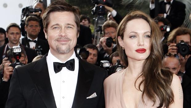 Brad Pitt e Angelina Jolie se casam na França em segredo