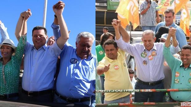 Marconi e Iris: candidatos ao governo de Goiás trocam farpas sobre a região do Entorno de Brasília