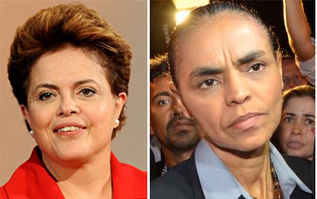Dilma Rousseff e Marina Silva defendem que governo federal invista em segurança pública nos estados
