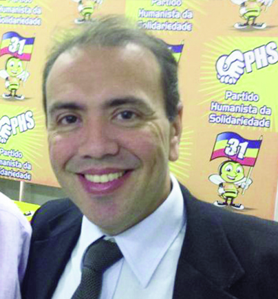 Eduardo Machado, presidente do PHS: um dos primeiros a entrar na aliança de Campos e Marina