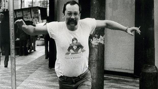 Paulo Leminski morreu no dia 7 de junho de 1989 em consequência do agravamento de uma cirrose hepática|Foto: Reprodução