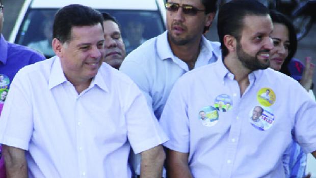 Baldy e Marconi se reaproximam. O deputado é uma ponte de Goiás no governo de Michel Temer