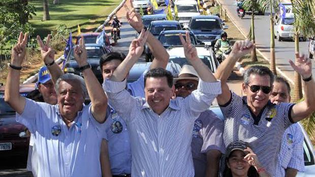 Em campanha nas cidades da Rota do Araguaia, Marconi destaca duplicação da GO-070