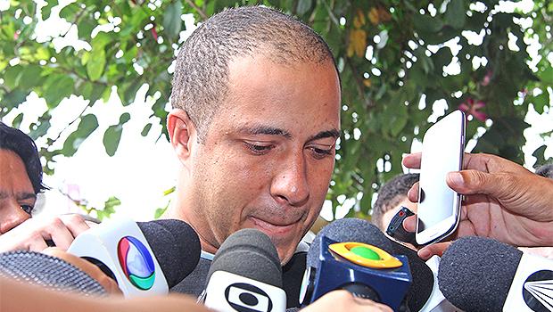 Marquinhos foi preso no dia 7, após ter o nome incluso na lista de foragidos da Interpol | Foto: Fernando Leite/Jornal Opção