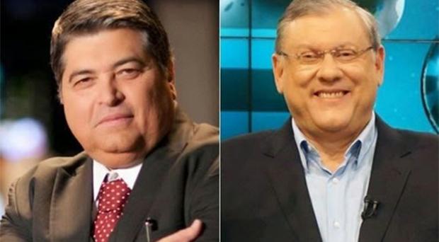 """Datena sobre Milton Neves: """"Tem bandido que tem mais honra que gente que conheço"""""""