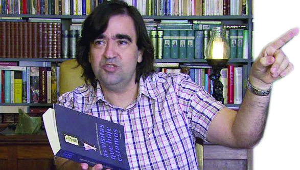 "Antonio Geraldo Figueiredo Ferreira, autor de ""As Visitas que Hoje Estamos"""