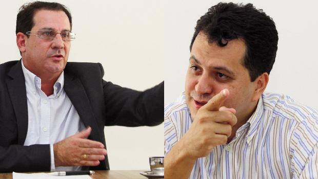 Vanderlan Cardoso, se realmente perder as eleições deste ano, chega a 2016 forte para uma possível eleição por Goiânia. (esquerda) Agenor Mariano seria o candidato natural do PMDB à Prefeitura, mas não depende dele