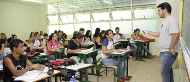 Ensino médio goiano  fica em 1º lugar no Ideb