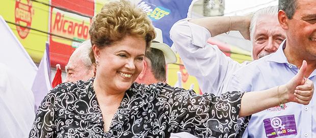 Presidente Dilma Rousseff:limpou o caixa do Fundo Soberano para salvar imagem de gestão às vésperas do pleito