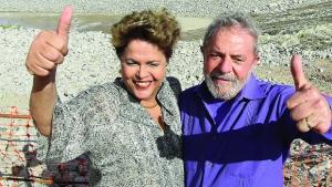 Dilma Rouseff tem mostrado ser pano de preparo para a volta de Lula, que só não voltou este ano devido aos escândalos