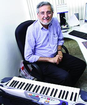 Fernando Cupertino: vice-presidente do Centro de Música Brasileira   Foto: Fernando Leite/Jornal Opção