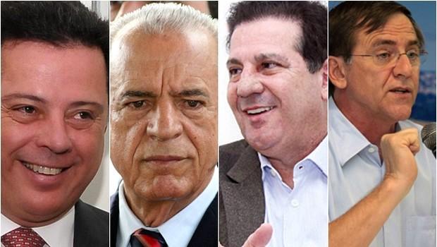 """Candidatos da oposição tecem críticas à gestão de Marconi Perillo, que as classifica de """"demagógicas"""""""