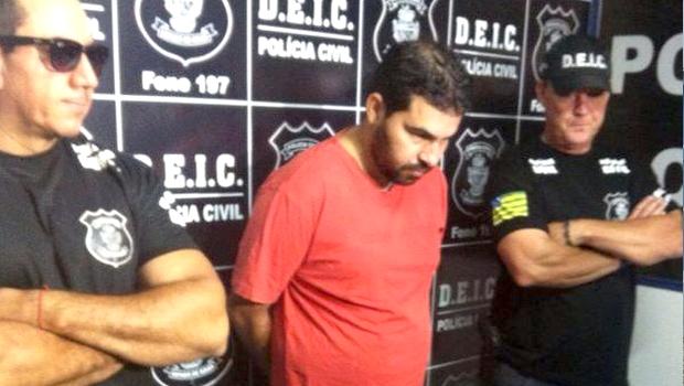 Polícia apresenta suspeito de praticar mais 30 assaltos em escritórios e consultórios de Goiânia