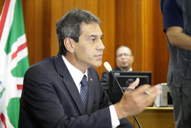 Vereador Carlos Soares / Foto: Alberto Maia/ Câmara Municipal