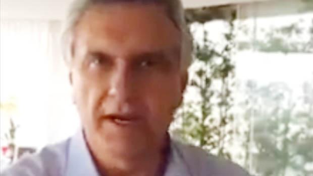 """Caiado pede que eleitor derrube o PT, """"quadrilha que domina o País"""""""
