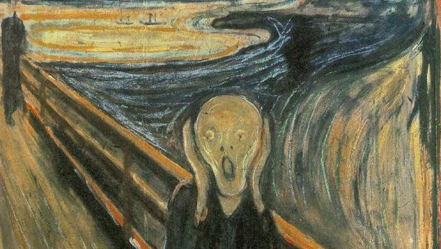 Foto: O grito, de Edvard Munch