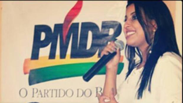 """PMDB nacional """"desautoriza"""" Denise Castro a falar em nome da juventude do partido"""