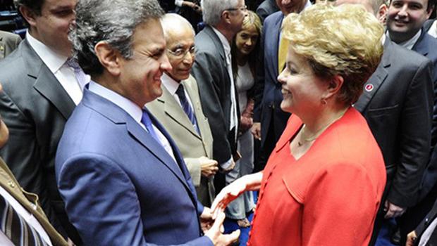Ibope e Datafolha: Aécio Neves seria presidente do Brasil. Se a eleição fosse realizada hoje
