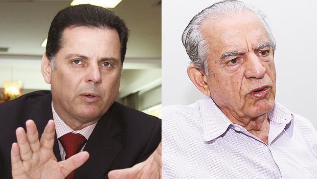 Iris Rezende e Marconi Perillo podem apoiar um candidato de consenso para presidente da Câmara