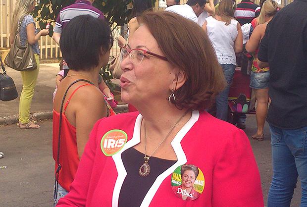 Ideli Salvatti vem a Goiânia e consolida aliança política entre Dilma e Iris Rezende