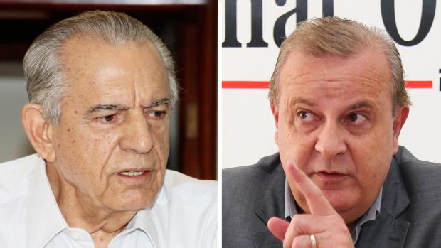 Iris Rezende repassou problema a Paulo Garcia | Fotos: Fernando Leite/Jornal Opção