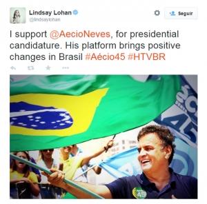 lindsay_apoio_aecio