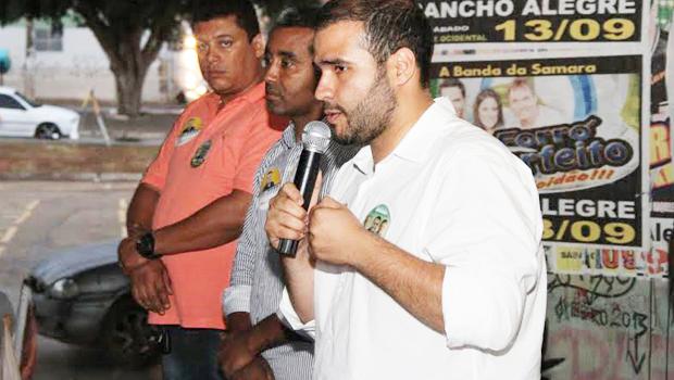 Lucas Vergílio, intensificou seus compromissos políticos e eleitorais na região do Entorno do Distrito Federal |Foto: Leopoldo Cazuo