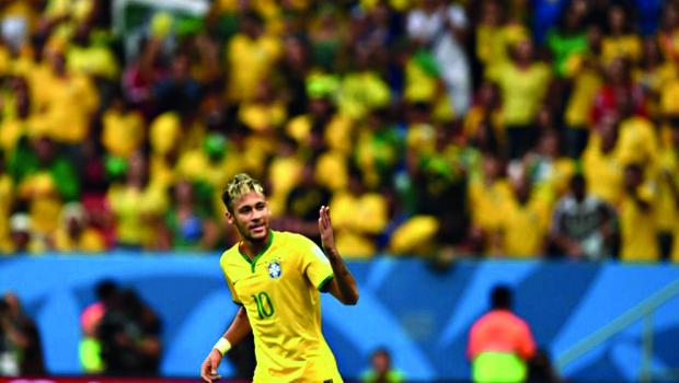 Neymar é o único brasileiro que concorre ao prêmio de melhor jogador de 2014
